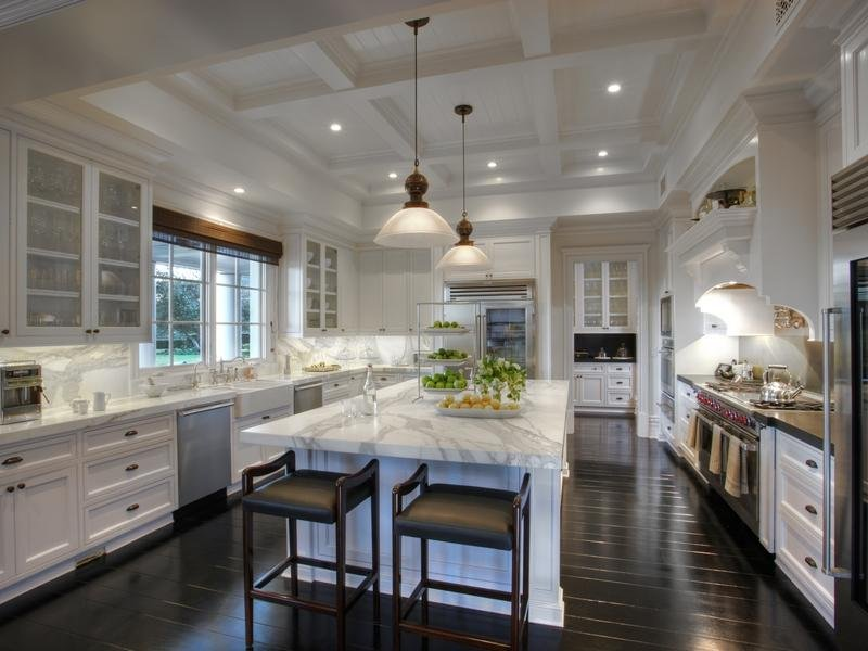 High Ceiling Kitchen Design Ideas ~ The right ceiling height luxespecs